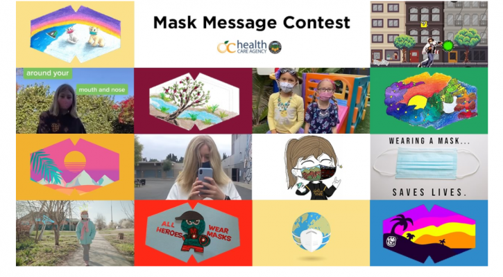 OC Health Care Agency Mask Message