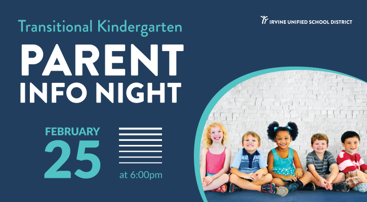 IUSD TK Parent Info Night