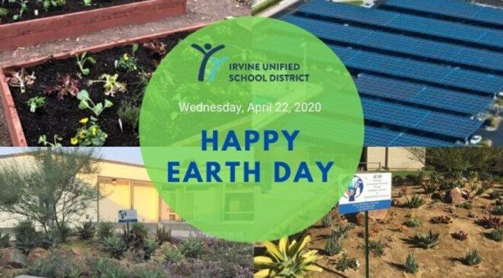 IUSD Earth Day Image