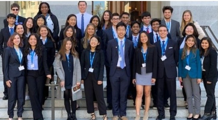 IUSD Students Travel to Sacramento to Discuss Education with State Leaders