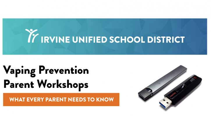 IUSD Vaping Prevention Flier