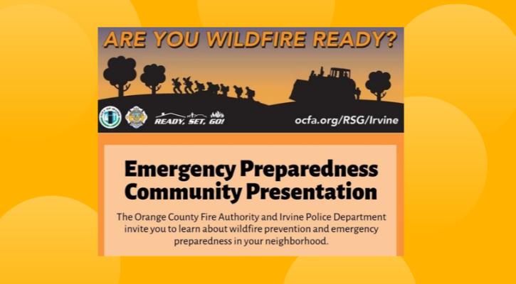 OCFA IPD Wildfire Prevention Presentations