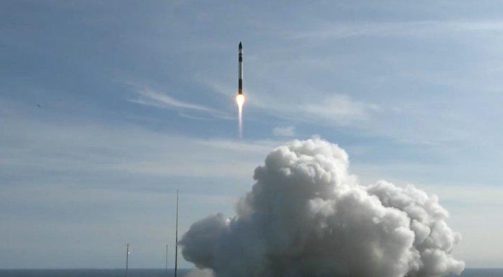 Image of CubeSat rocket launch