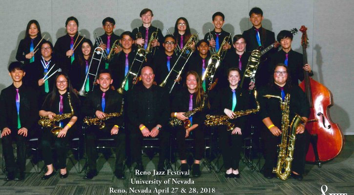 Irvine High Jazz Team