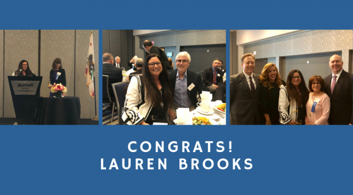 Lauren Brooks 2019 MARIAN BERGESON AWARD RECIPIENT