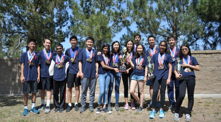JTMS Science Olympiad Team