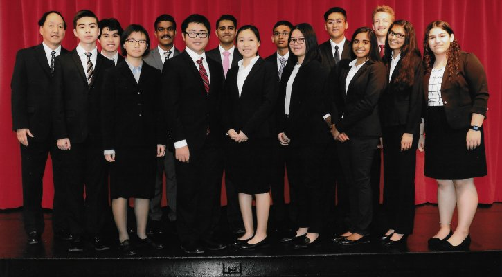 Woodbridge Academic Decathlon Team