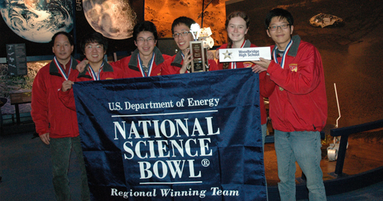 Woodbury High National Science Bowl