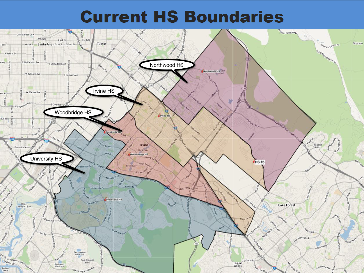 IUSD to present information on proposed high school boundary
