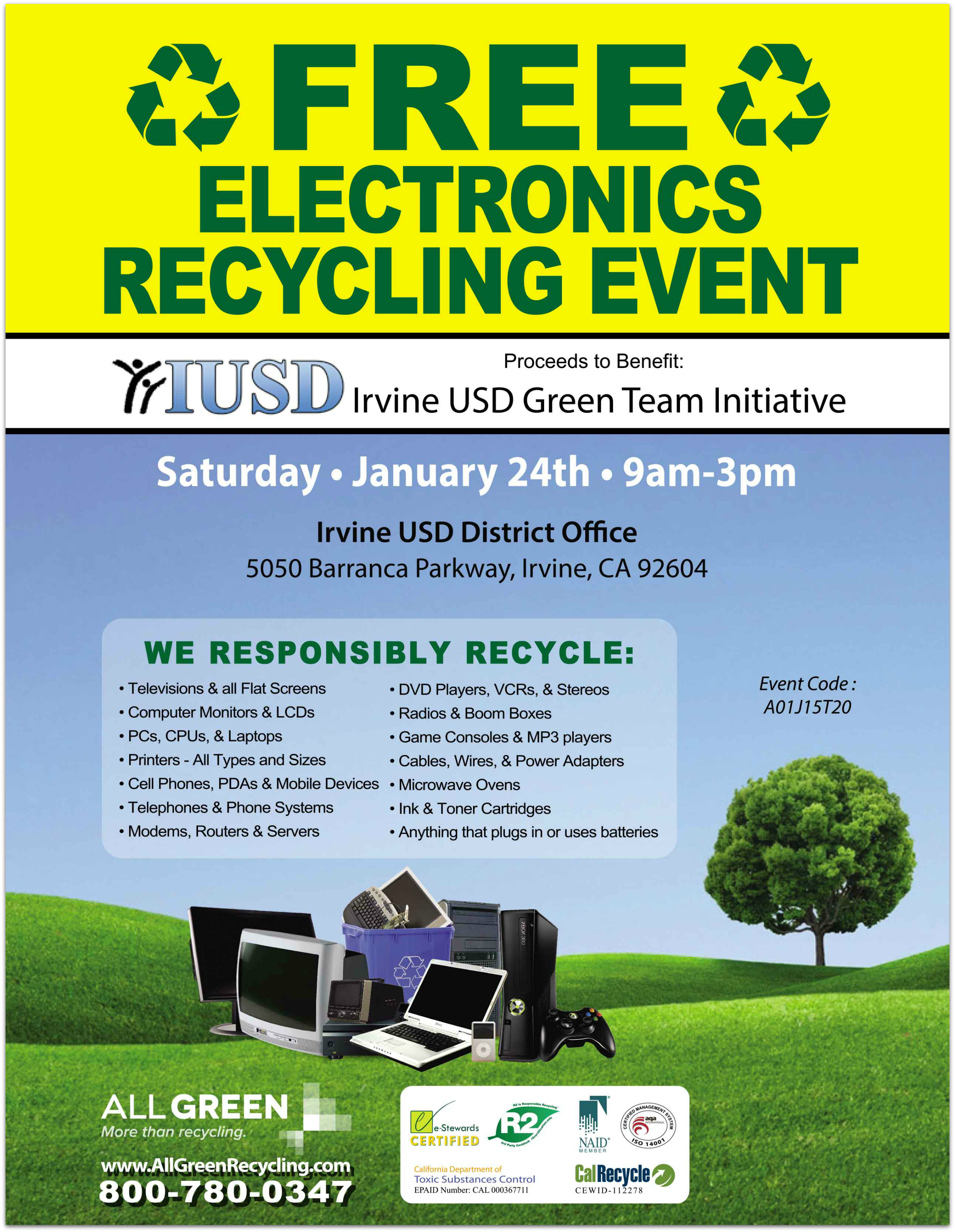 Iusd Will Take Aging Electronics Off Your Hands At Upcoming E Waste